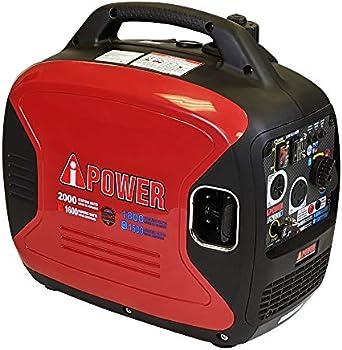A-iPower 2000 Watt Digital Enclosed Inverter Dual Fuel Generator