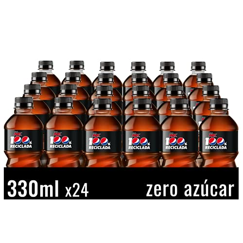 Pepsi Max - Refresco De Cola Con Zero Azúcar, Botella 330Ml x 24