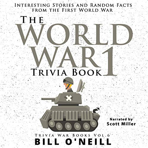 The World War 1 Trivia Book cover art