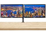 Samsung SE200 Series S24E200BL 23.6 Inch 1080p FHD LED-Backlit LCD Business 2-Pack Monitor Bundle with VGA, DVI, and Desk Mount Clamp Dual Monitor Stand