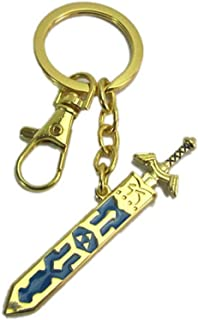 Key Ring Zelda Lengend Heart-Shaped Keychain Key Ring