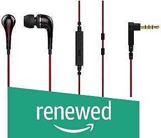 (Renewed) SoundMagic ES11S Headphones (Black/Red)