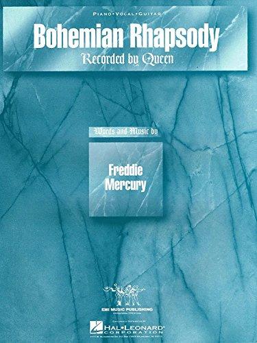 Bohemian Rhapsody - Piano, Vocal and Guitar - Book
