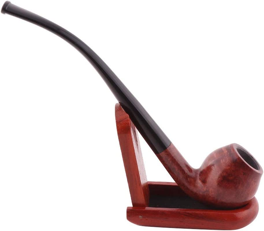 PIPE ZLZ- Solid Wood Men's Retro Toba Dry Old Selling Max 60% OFF Fashioned Portable