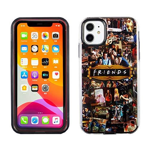 iPhone 11 6.1 Inch Dual Slim Case CASEVEREST 3D Print Cover Friends TV Show IP 11 PC + TPU