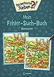 Die verflixten Sieben - Mein Fehler-Such-Buch - Dinosaurier: Rätsel für
