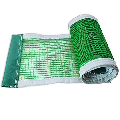 OUUUKL 5 Pezzi Rete da Ping Pong, Ping Pong Rete Professionale Materiali di Alta qualità 180 × 15 cm Reti da Ping Pong con Rete Regolabile Impermeabili e Resistenti