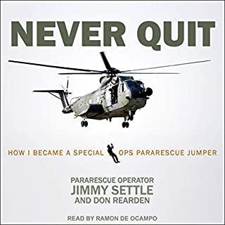 Never Quit audiobook cover art