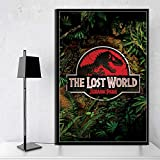 ACUOHU Ungerahmte Malerei Jurassic Park Classic Movie Art