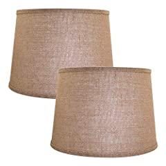 Note: Watch video before buying, This lampshade can only be used on table lamps or floor lamps with harp support.Lampshade installation type: Spider mode, easy to use, but before buying, please make sure your fixture is Spider and has Harp, otherwise...