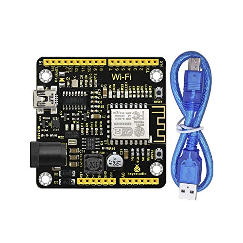 KEYESTUDIO ESP8266 IDE Module Development Board with I/O Ports WiFi for Arduino R3 Kit