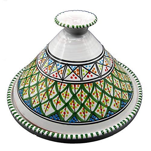 Arredo Etnico Tajine Decorativa Terracotta Marocchina Tunisina 32cm 3010201202
