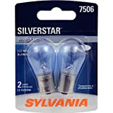 SYLVANIA 7506ST.BP2 7506 SilverStar High Performance Miniature Bulb, (Contains 2 Bulbs)
