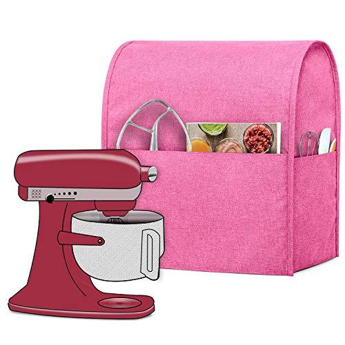 kitchenaid mixer cover pink - 1