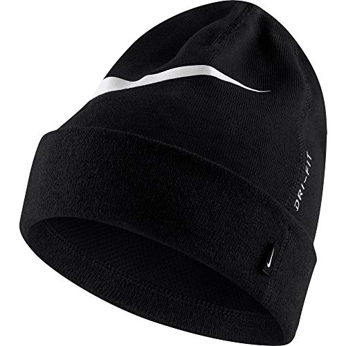 Nike Team Unisex Beanie, Adulto, Black/White, MISC