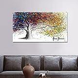 Puzzle 1000 piezas Fantasía color abstracto planta árbol puzzle 1000 piezas adultos Gran ocio vacacional, juegos interactivos familiares50x75cm(20x30inch)