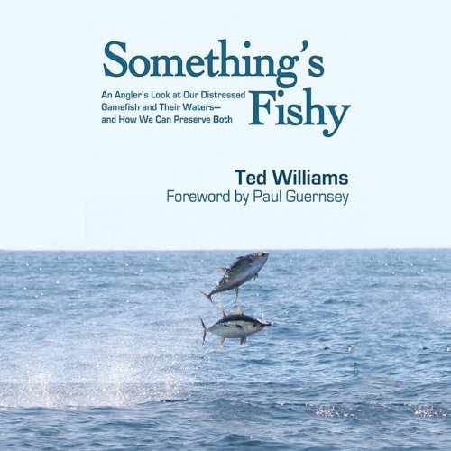 Something's Fishy audiobook cover art
