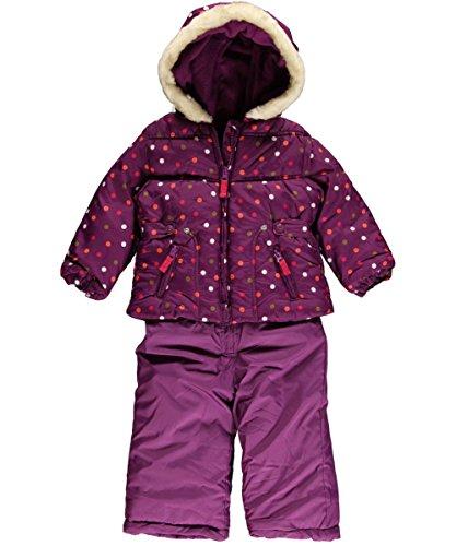 OshKosh 74/80 Schneeanzug Schneehose + Winterjacke US Size 12 Month lila