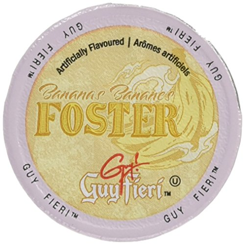 Guy Fieri Flavortown Roasts Coffee, Bananas Foster, 24 Count