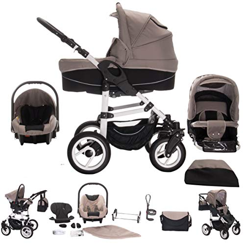 Bebebi Paris | 3 in 1 Kinderwagen Komplettset