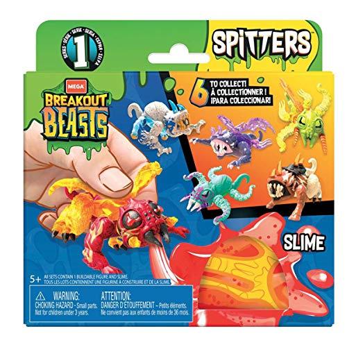 Mattel MegaBloks GGJ55 Breakout Beasts - Figuras espeluznantes en varios colores