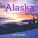 Alaska 2022 calendar: 18 Months Calendar 2022-2023 For Women, Men, Kids & Alaska Lovers ,Size 8.5 x 8.5 Inch, Large box for record dates and special events
