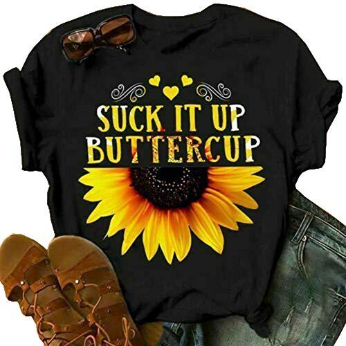 Women's Sunflower Funny Top