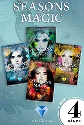 Seasons of Magic: Die E-Box mit allen vier Bänden zur Reihe (Mit Bonuskapitel »Das magische Ende«)