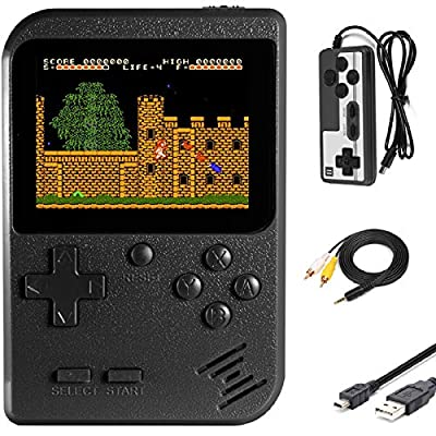 Imponigic Handheld Game Console Retro Mini Game Player with 500 Classic Game 1020mAh Rechargeable Battery 3 Inch IPS Screen Best Childhood Memory Present for Kids from Imponigic