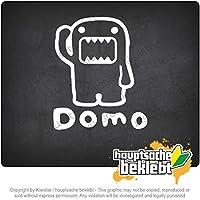 ドモ - ハローマスコット Domo - Hello Mascot 12cm x 10cm 15色 - ネオン+クロム! ステッカービニールオートバイ