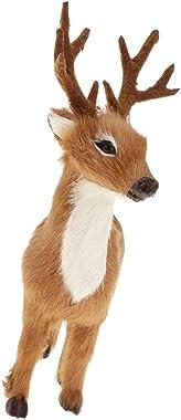 HOMYL Artificial Deer Model Handcraft Garden Home Lawn Decor Ornament Kids Toy