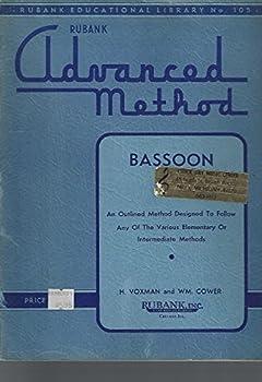 Paperback Rubank Advanced Method Bassoon (Rubank educational library) Book