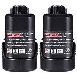 KINGTIANLE Batería de repuesto de 10,8 V, 3000 mAh, batería de litio de repuesto para Bosch BAT411, BAT411A, BAT412A, 2607336013, 2607336014