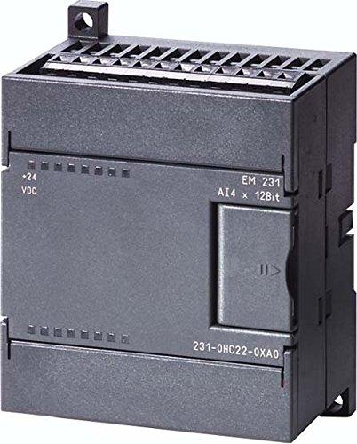 Siemens Indus.Sector Analog Eing.-Modul 6ES7231-7PC22-0XA0 Simatic S7-200 EM231 S7-200 SPS-Analoges Ein-/Ausgangs-Modul 4025515075615
