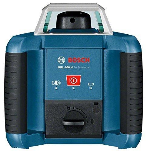 Bosch Professional Rotationslaser GRL 400 H (Ein-Knopf-Bedienfeld, max. Arbeitsbereich: 400 m, in Handwerkerkoffer) - 2