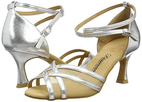 Diamant – Damen Tanzschuh – 035-087-013 silber Gr. 5,5 - 5