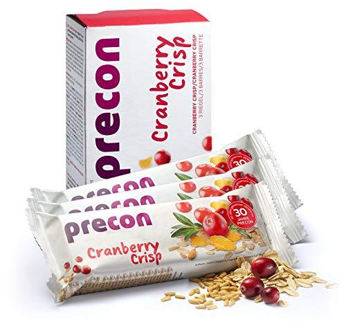 Precon BCM Diät Riegel zum Abnehmen – CranberryCrisp – 3 Riegel à 64 g – Mahlzeitenersatz für eine gewichtskontrollierende Ernährung