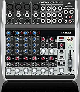 Behringer XENYX Q1202USB  12-Input 2-Bus with Xenyx Mic Preamp & Compressors British EQs