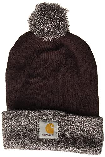 Carhartt Lookout Hat Sombrero de Beanie, Deep Wine, Ofa para Mujer