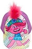 DreamWorks Trolls Poppy 3-D Pink Hair Baseball Cap for Girls Ages 4-7