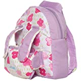 Manhattan Toy Baby Stella Baby Doll Carrier and Backpack Baby Doll Accessory for 12' and 15' Soft Dolls