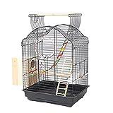 SZQ-jaula Jaula del animal doméstico, tienda de animales jaula de pájaros interior y exterior portátiles Suministros loro jaula del animal doméstico Lovebird Birdcages Canarias jaula de pájaros Jaula