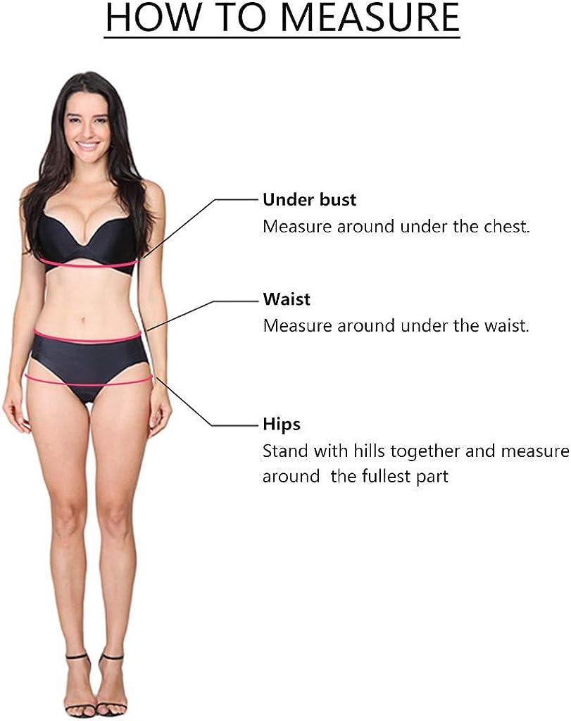 Jchen Women Geometric Leaves Print Swimsuit Two Piece Bathing Suits Tankini Swim Dress with Briefs Plus Size Tankini Sets