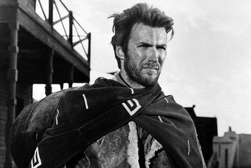 Nostalgia Store Clint Eastwood - Póster de poncho (60 x 91 cm)