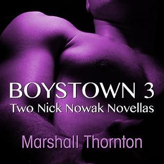 Boystown 3: Two Nick Nowak Novellas audiobook cover art