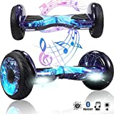 Magic Vida 10'' Self Balance Scooter Elettrico in Offerta Bluetooth con LED Auto bilanciamento(Blue Galaxy)
