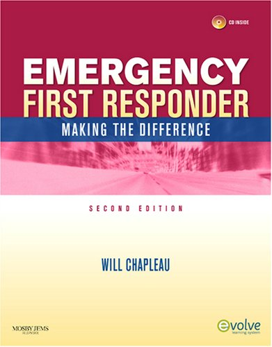 Emergency First Responder: Making the Difference Textbook and RAPID First Responder Package, 2e