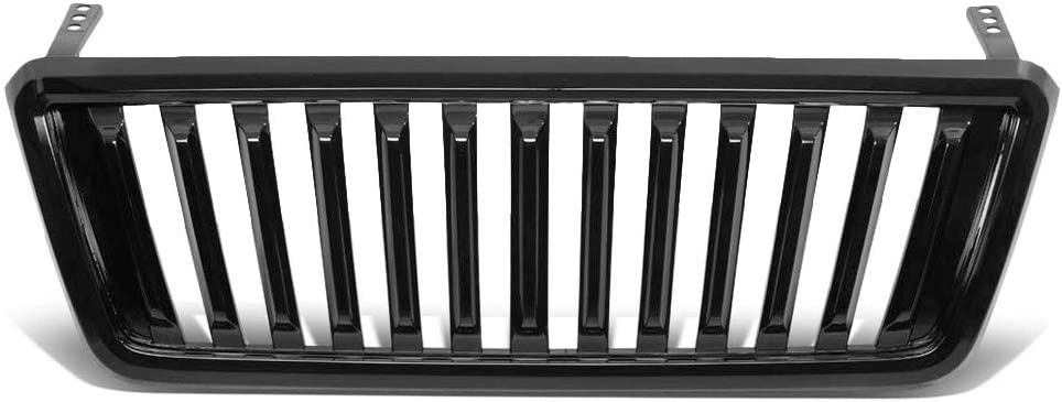 Badgeless Fence Front Grille ABS 格安 Wi Black Works Plastic 開店記念セール Glossy