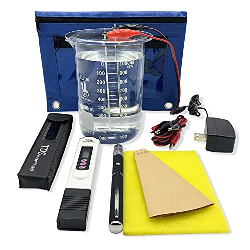 24V Colloidal Silver Generator with 99.99% Silver. Just add Water & Jar!