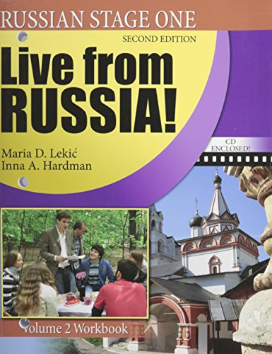Live from Russia!: 2 (The Russian-American Collaborative Series: Russian Stage One)